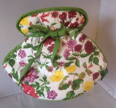 Royal Horticultural Society Floral Tea pot cover