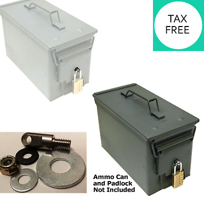 Ammo Can Locking Hardware 20 to 50 Cal Steel Box Case Ammunition Container Tools