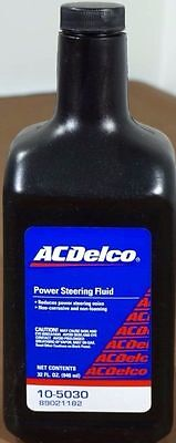 NEW ACDelco Power Steering Fluid 1 Quart / 32oz Bottle 10-5030 89021182
