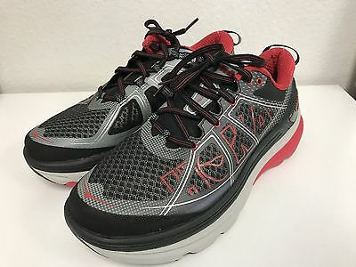 Hoka One One Men's Constant 2 Sneaker Black grey Size: 9.5