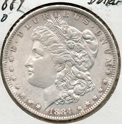 Nice Early Year 1884 O Morgan Dollar
