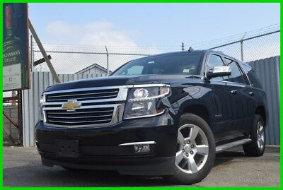 2015 Chevrolet Tahoe LTZ Fun and Sun Rear DVD Moonroof Navigation Hot & Cols Seats Rear Air Power Gate
