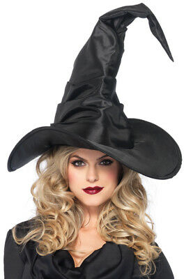 Brand New Large Wicked Witch Black Hat Costume Accessory