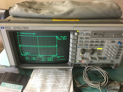 HP/Agilent 54520A 500MHz  2-Channel Digitizing Oscilloscope 500MSa/s