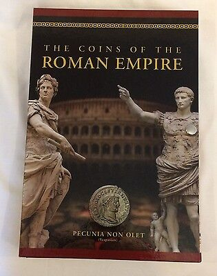 The Coins of the Roman Empire 5 coin set, sealed in beautiful Album