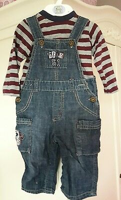Baby Boy Infant dungarees 3 - 6 months boys