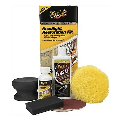 NEW Meguiar's G2980 Heavy Duty Headlight Restoration Kit (NO TAXES) FREE SHIP