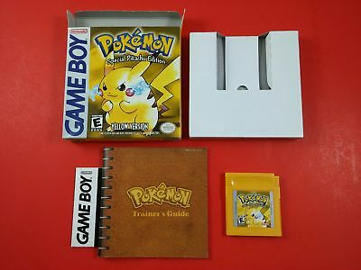Pokemon Yellow [CIB Complete in Box] (Nintendo GameBoy) Tested & Working