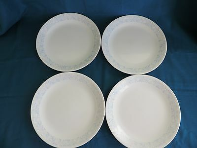 Set of 4 Corning Corelle Sea and Sand Dinner Plates 10 1/4''