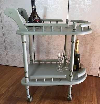 Vintage Up-Cycled Drinks/Liquor/Tea Trolley