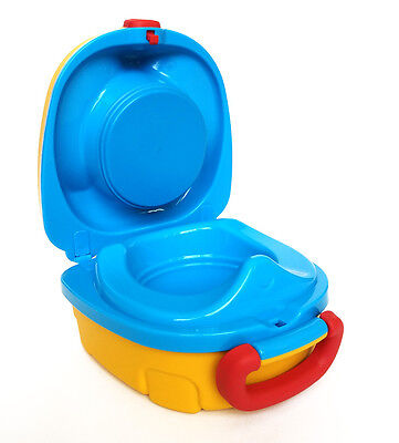 My Carry Potty For Baby Potty Toilet Training color Yellow/Blue NEW