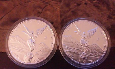 2014 Mexico Silver Libertads  (2) x 1 oz PROOF Coin  (4,700 Minted)