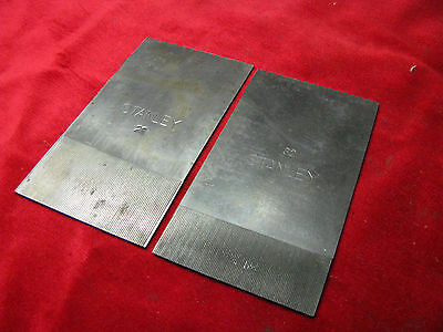 """STANLEY"" No 12 series TOOTHING CUTTERS X2"