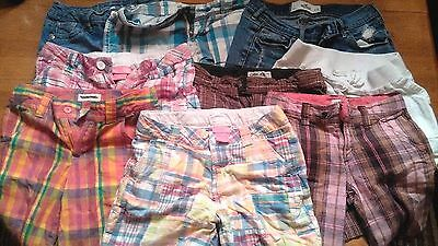 Girls Lot Of 9 Size 7 To 12 Shorts Aeropostale Hollister Cherokee Justice Brand