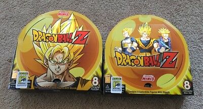 SDCC 2017 Original Minis Dragon Ball Z Complete  Figure Set Series 1 & 2 In Hand