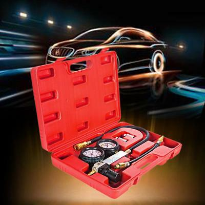 Cylinder Leak Tester Petrol Engine Compression Leakage Leakdown Detector Kit