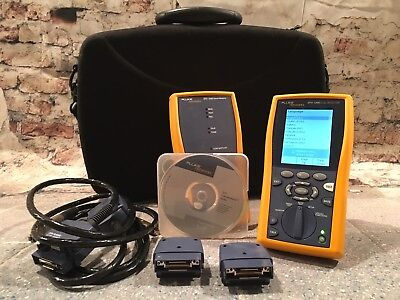 Fluke Networks DTX-1200 Digital Cable Tester Analyzer DTX 1200