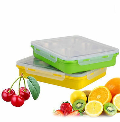Leakproof Stainless Steel Lunch Box Picnic Food Container 5 Compartments Yumlock
