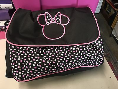 Minnie Mouse Diaper Bag, Brand New No Tags With Changing Pad