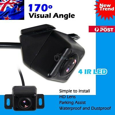 AU Car Rear View Backup Reversing Reverse Camera Night Vision 4 IR LED Rearview