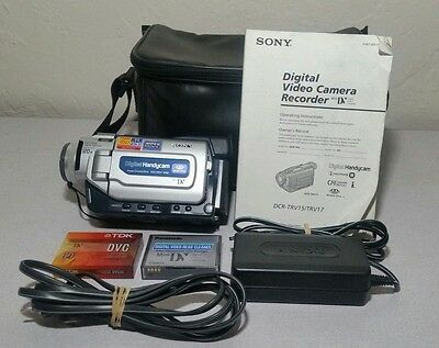 Sony Handycam DCR-TRV17 Mini DV Camcorder Player Digital Video Transfer Camera