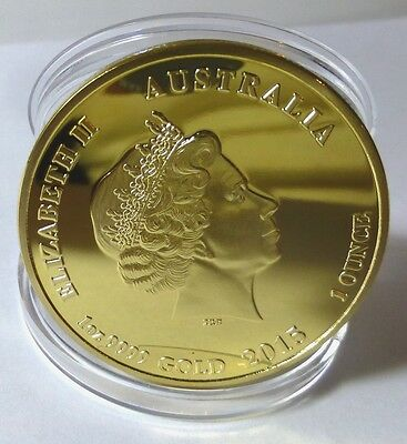 Year Of The Goat - 1 Oz 0.999 Gold Layered Coin