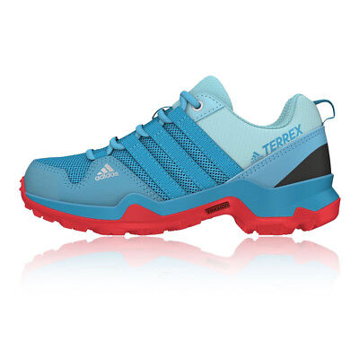 Adidas Terrex AX2R Junior Blue Outdoors Walking Hiking Shoes