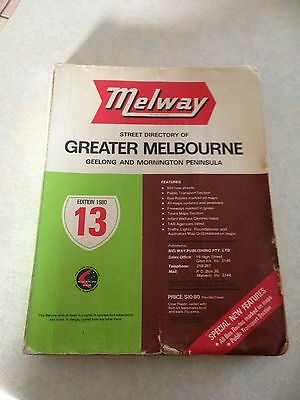 1980 Melway Directory