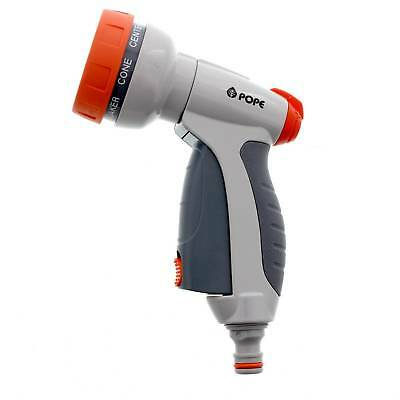 Ezy Trigger Hand Spray Nozzle Garden Watering Pope 7 Water Patterns No Fatigue