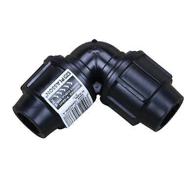 ELBOW 20mm for Metric Poly 69282 Water Irrigation Plasson
