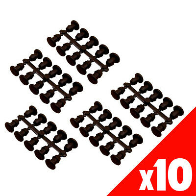 100 x 4mm GOOF REPAIR PLUGS Low Density Poly Pipe Garden Water Irrigation