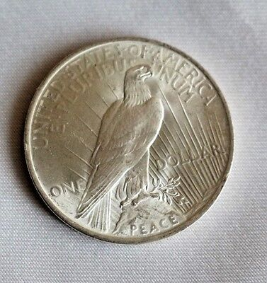 Usa One Dollar Münze Taler Serie Peace Silbertaler 1923 Eur