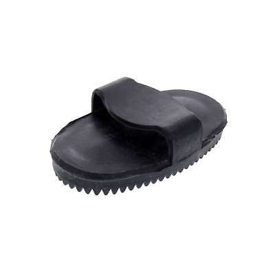 Curry Comb Small Black Zilco Horse Equine Rubber Loosen Mud And Shedding Hair