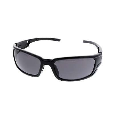 Denver Smoke Safety Glasses Anti-Fog Black Frame UV Protection Lightweight