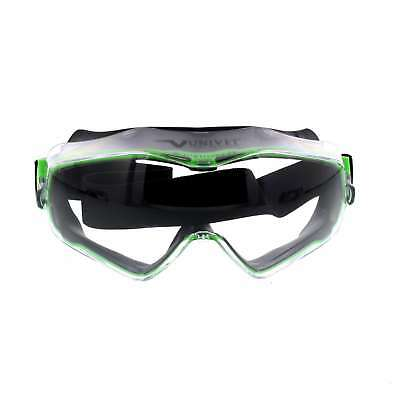 Maxisafe Clear Chemical Goggles (Suits EUV350 Faceshield) Soft Silicone Body