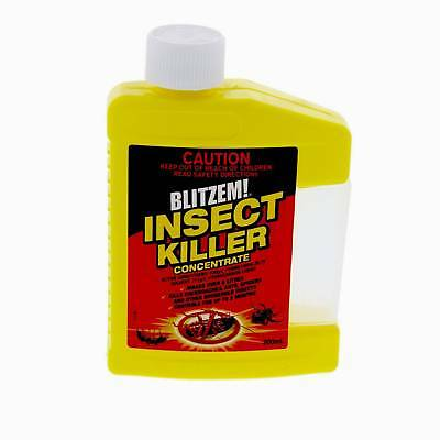 Blitzem Insect Killer Concentrate 200ml Control Of Wasps Flies Cockroaches Etc
