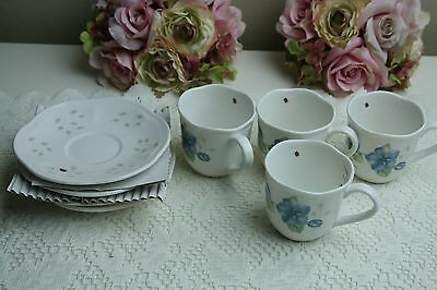 Lenox Butterfly Meadow Espresso Cup and Saucer set of 4