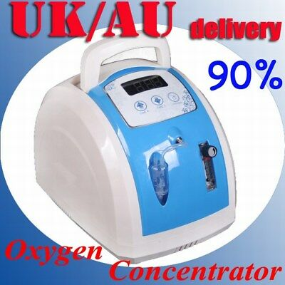 PORTABLE OXYGEN CONCENTRATOR GENERATOR FOR HOME/TRAVEL HEALTH CARE NEW b2