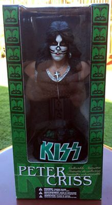 KISS Peter Criss RARE Bust Collectible Statuette 2002 McFarlane Toys