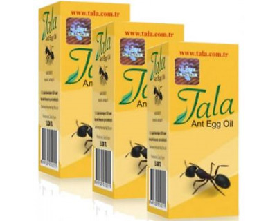 3 Boxes of Tala Ant Egg Oil Hair Reducing Removal