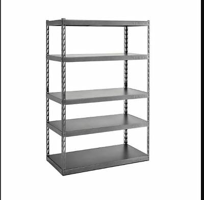 Shelf Steel D5 Storage Garage Shelving Unit 72in. H x 48in. W x 24in. Gladiator
