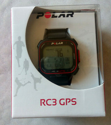NEW Polar RC3 GPS Sports Watch with Heart Rate Sensor monitor- running fitness