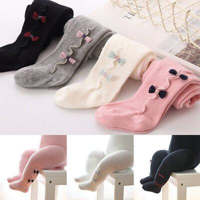 Baby Toddler Infant Girls Cotton Warm Tights Pantyhose Socks 0-36 Months
