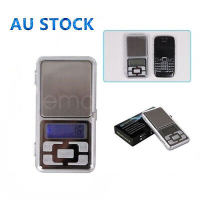 LCD Portable Digital Pocket Jewelry Scale 1/500g Weight Electronic Balance Gram