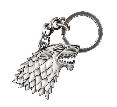 Stark Keychain Great Gift for Game of Thrones Fans