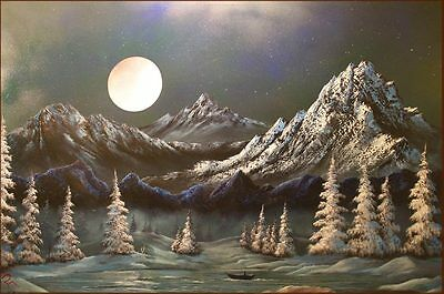 Original Oil Painting (Brand New) On Deep Edge Stretched Canvas