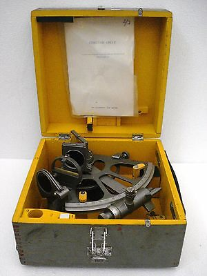 USSR CHO-T Marine Sextant - No. N871311 - BEST FOR PARTS ONLY