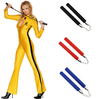 Bruce Lee Martial Arts Exercise Training Foam Nunchaku Nunchucks Karate Stick AU