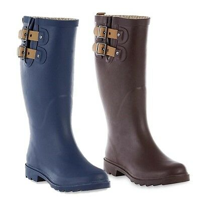 a1273b6d12d6 CHOOKA WOMEN'S TOP Solid Waterproof Rain Boot - $35.09 | PicClick