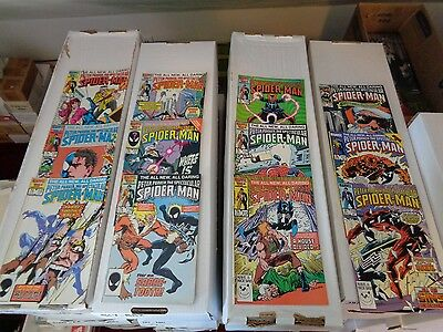 Spectacular Spider-Man #110-121 1986 Run Lot Of 12 VF+/NM Condition Marvel Comic